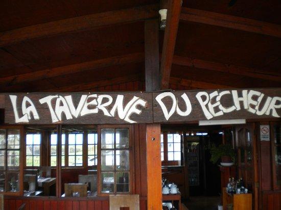 La Taverne du Pecheur: terraza