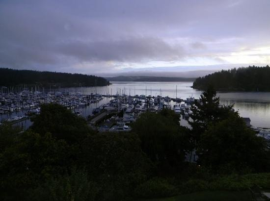 Friday Harbor House : room with a view