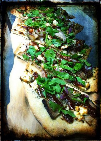 Sorrel Restaurant and Bistro: BBQ Pork Belly Flatbread.