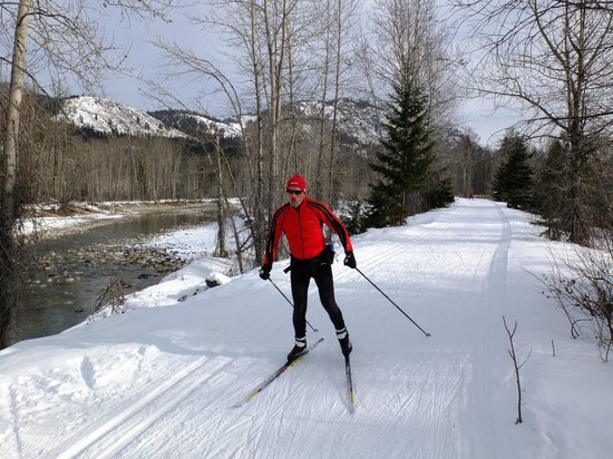 Mazama Country Inn: 120 miles of groomed ski trails!