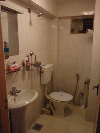 Cosy Hotel: quirky bathroom