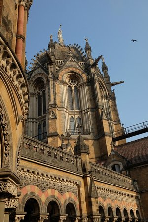 Chhatrapati Shivaji Terminus : amazing construction