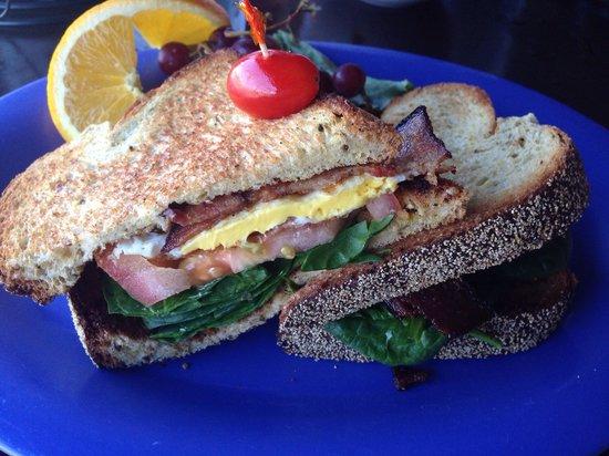 Yummies Bistro: Egg sandwhich. O.M.Yumminess