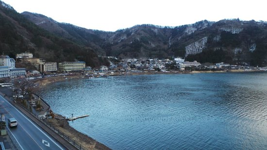 Tominoko Hotel: day view