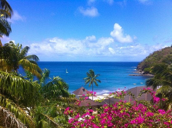 BodyHoliday Saint Lucia: View from wellness center