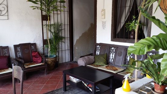 River View Guest House: 阳台