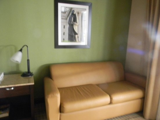 Wingate by Wyndham Oklahoma City Airport : Fold Out Couch