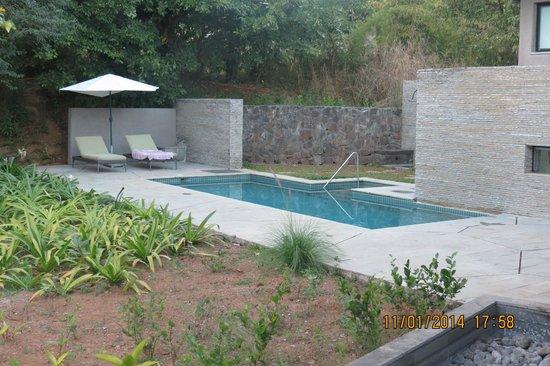 Hilton Shillim Estate Retreat & Spa : Pool in the villa