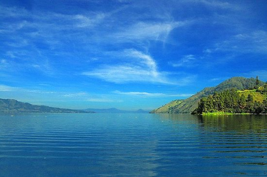 North Sumatra, Endonezya: lake toba