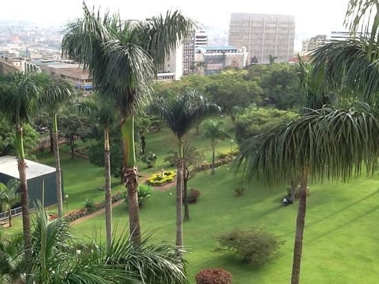 Sheraton Kampala Hotel: view from the room