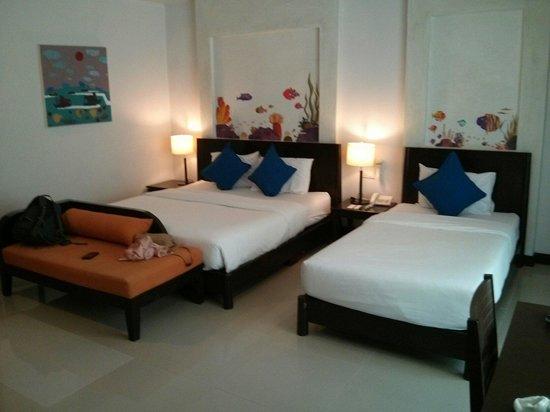 Krabi Aquamarine Resort : Triple room