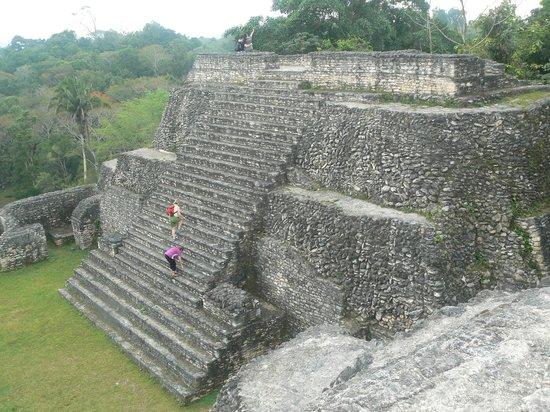 UpClose Belize: Climbing