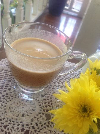 A Spoonful of Sugar: My coffee, with cream!