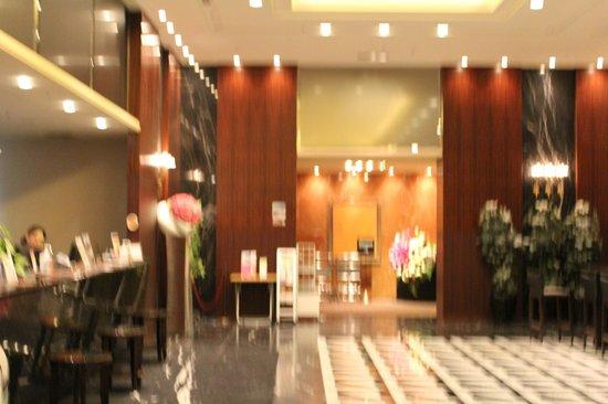 Hotel Villa Fontaine Roppongi : Ресепшн