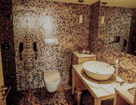 Le Meridien New Delhi: The bathroom @ #1727
