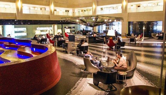 "Le Meridien New Delhi: ""Longitude"" The coffe lounge at ground floor"