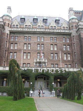 Inner Harbour: the Empress Hotel