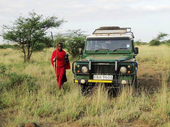 Maasai Simba Camp: Сопровождающий – воин масаи