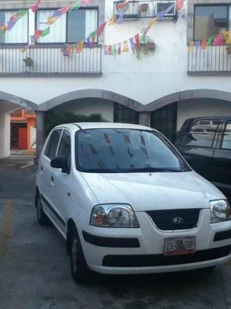 Hotel Hacienda de Castilla: Parking amplio