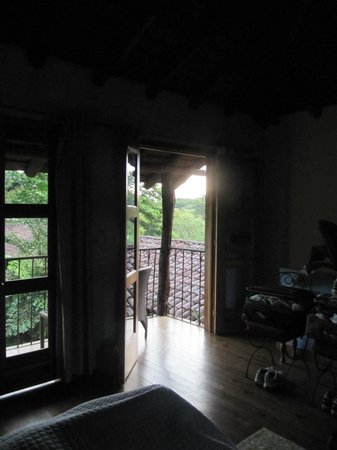 Hacienda La Isla Lodge: Looking out from the room
