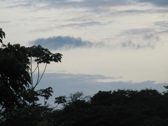 Hacienda La Isla Lodge: View of the morning sky