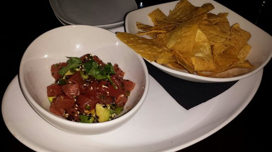 Whitetooth Mountain Bistro : Tuna tatar