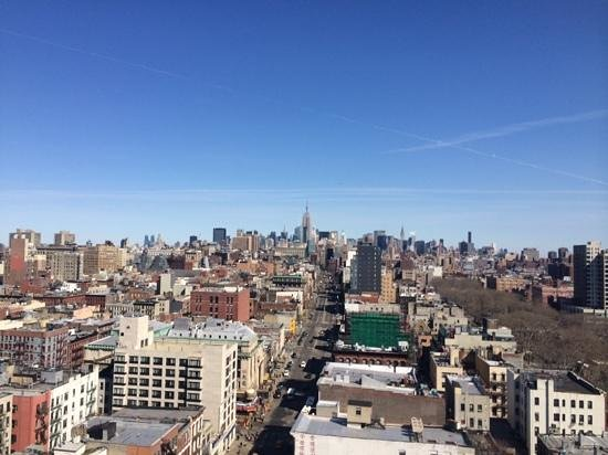 Wyndham Garden Chinatown: View from the 15th floor