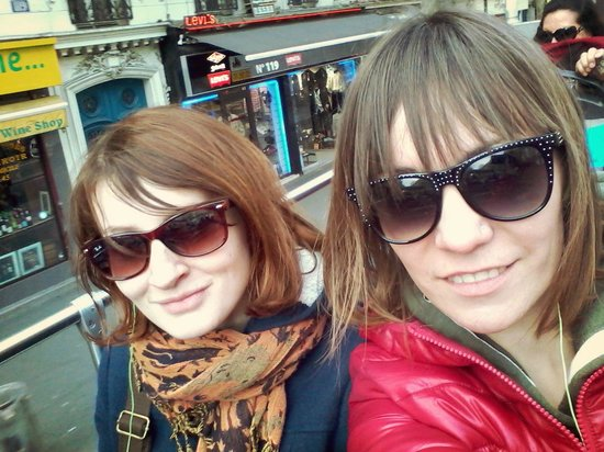 L'Open Bus Tour : On board