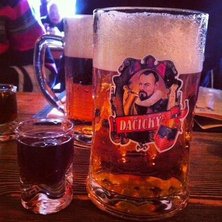 Dačický restaurant : Пиво