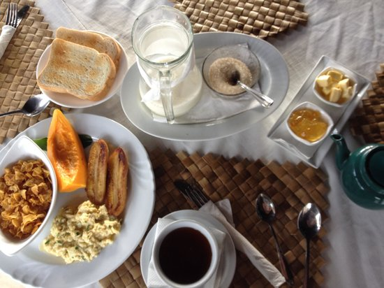 Le Manumea Hotel: Complimentary breakfast