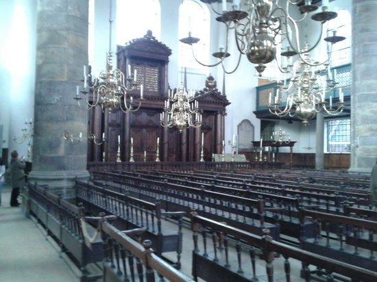 Synagogue portugaise : Somente os homens trabalham na sinagoga!