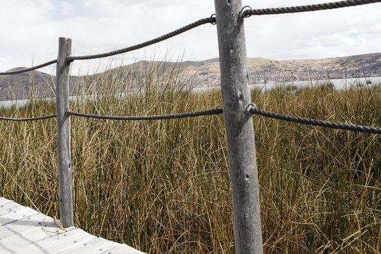 Casa Andina Private Collection Puno: Причал. Озеро