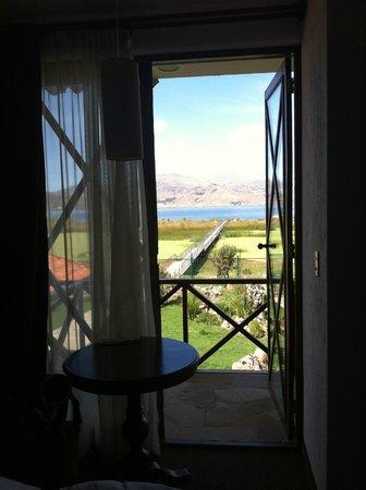 Casa Andina Private Collection Puno: Вид из номера. Балкон