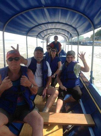 Chiang Mai, Thaimaa: Boat ride to Laos