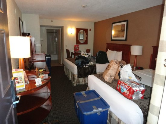La Quinta Inn & Suites San Diego SeaWorld/Zoo Area: escusez pour le bordel, photo recente