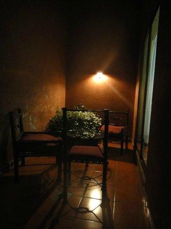 Suites del Centro: Una pequeña terraza