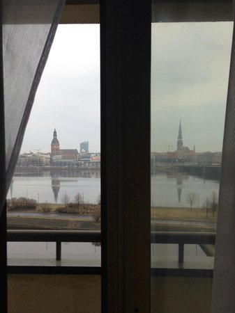 Radisson Blu Daugava Hotel, Riga: Вид из окна