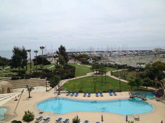 St Raphael Resort: view from the bar!