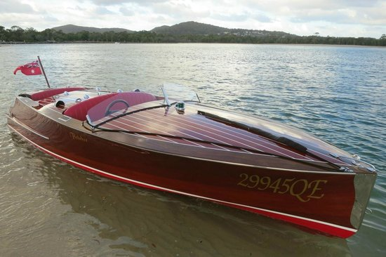 Noosa Dreamboats Classic Boat Cruises Wooden Speed Dream