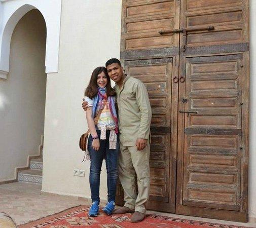Palacio de las Especias: Puerta de una de las habitaciones
