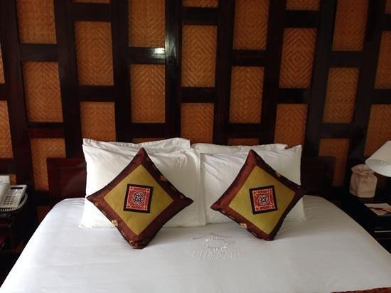 Victoria Sapa Resort and Spa : comfortable bed