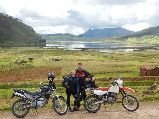 Peru Moto Tours: Tour en moto en el area de Cusco - Honda XR650L