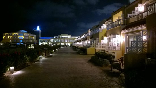 Mediterranean Azur Hotel: View at night
