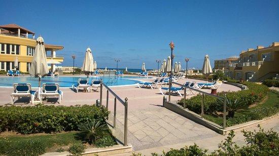 Mediterranean Azur Hotel : room view
