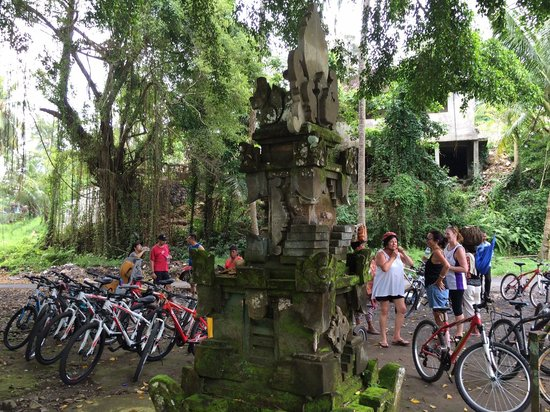 Bali Eco Cycling: The ending point of the tour