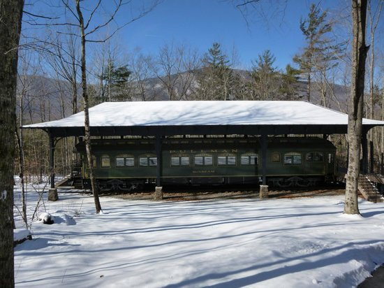 Hildene, The Lincoln Family Home: Pullman car. The inside is stunning