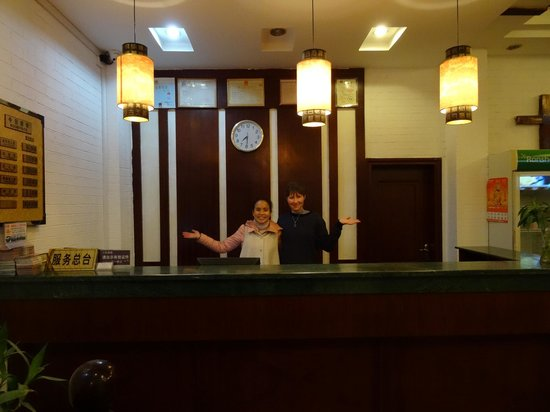 Lucy's Hotel : Reception Desk