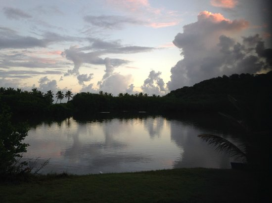 Antigua's Yepton Estate Cottages: Watching the clouds go by