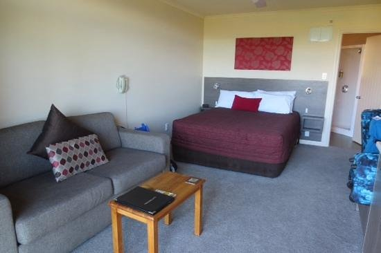 Lake Tekapo Village Motel: Our bedroom
