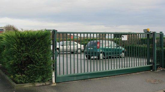 Europarc Hotel : parking privé gratuit